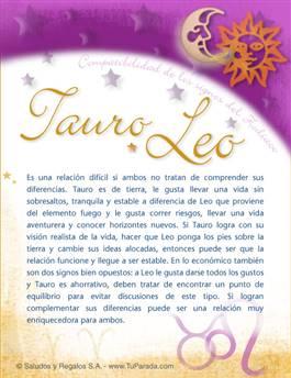 Tarjeta de Compatibilidad de Tauro