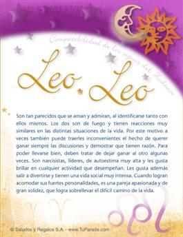 Leo con Leo