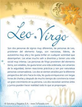 Leo con Virgo