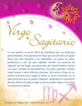 Virgo con Sagitario