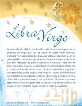 Libra con Virgo