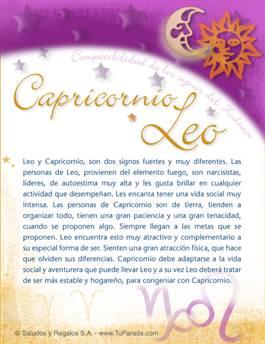Tarjeta de Compatibilidad de Capricornio