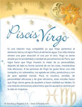Piscis con Virgo