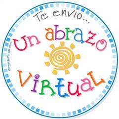 Un abrazo virtual
