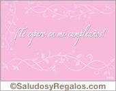 Invitación de quince años en rosa