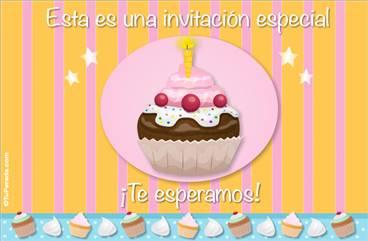 Invitación de cumpleaños especial