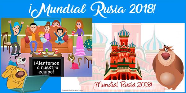 Tarjetas Mundial Rusia 2018