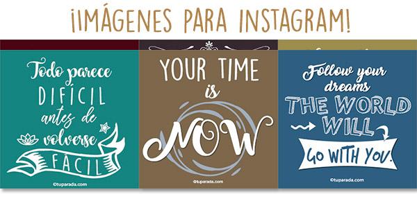 Imágenes para Instagram