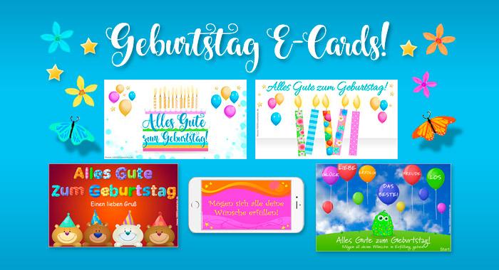 Geburtstag E-Cards!
