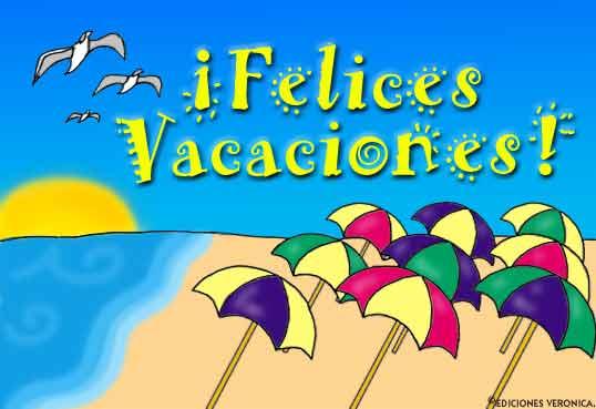 Tarjeta - ¡Felices Vacaciones!