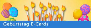 Geburtstag E-Cards