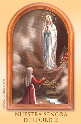 Tarjeta - Nuestra Señora de Lourdes