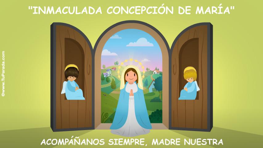 Ver fecha especial de Inmaculada Concepción