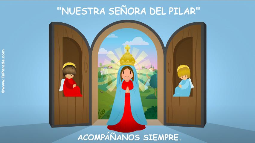 Tarjeta - Nuestra Señora del Pilar
