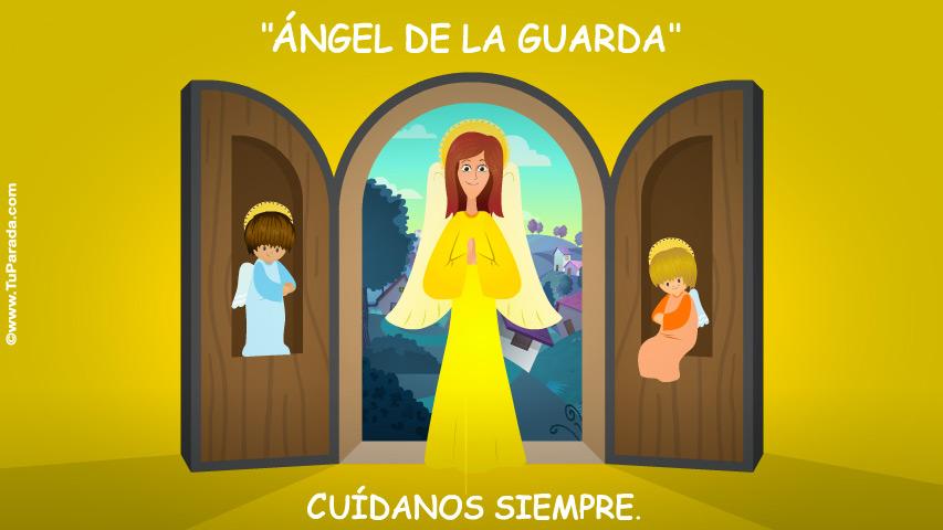 Tarjeta - Ángel de la Guarda