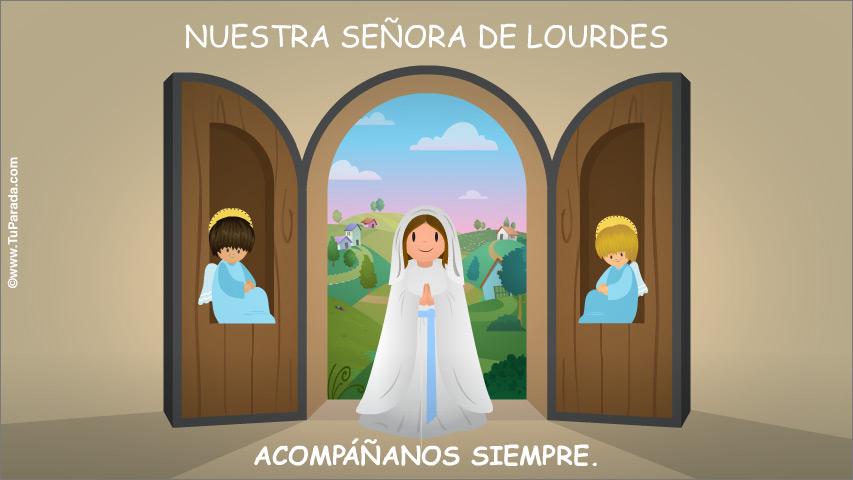 Ver fecha especial de Nuestra Señora de Lourdes