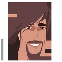 Imagen varón con barba