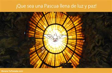 Por una Pascua de luz y paz