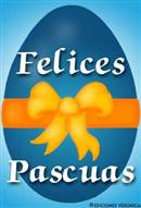 Huevo para desear feliz Pascua