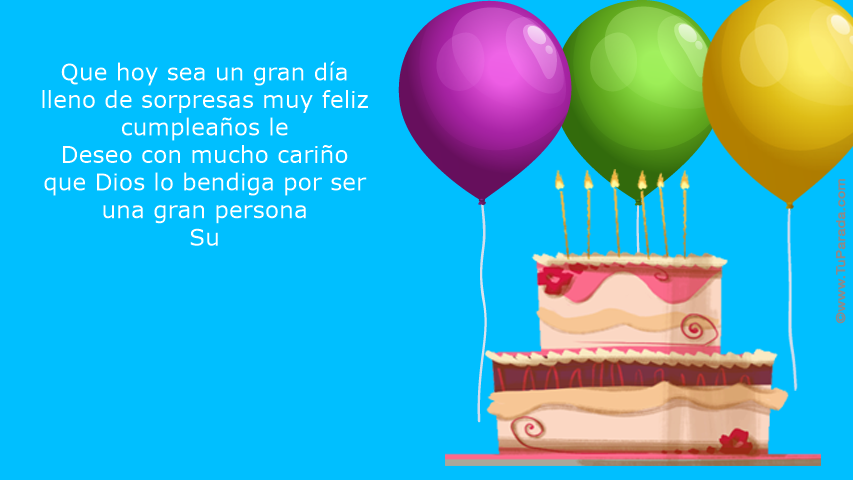 Feliz Cumpleaños Don Jorge Cumpleaños Tarjetas