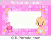 Crear tarjeta de Nacimiento