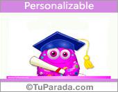 Crear tarjeta de Graduación