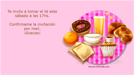 Tarjeta de Invitaciones