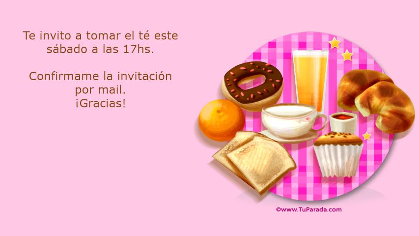 Te Invito Invitaciones Tarjetas