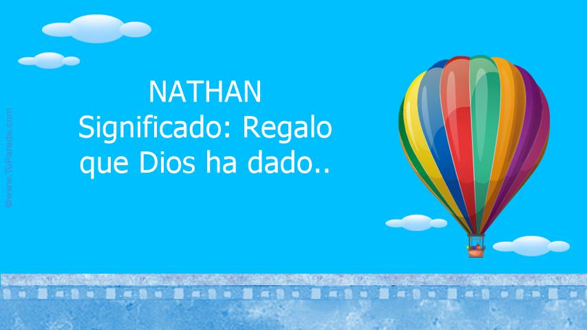 Tarjeta - NATHAN