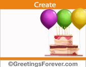 Create Birthday ecard