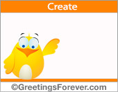 Create Hi, Hello ecard
