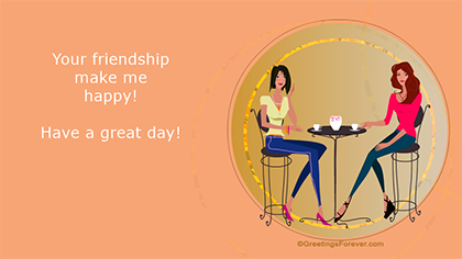 Create Friendship ecard