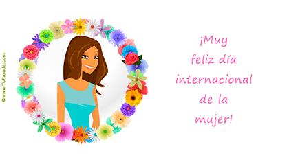 Crear tarjeta de Día de la mujer