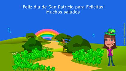 Crear tarjeta de San Patricio