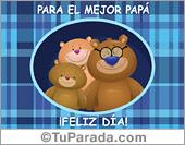 Tarjetas postales: Tarjeta para el mejor papá