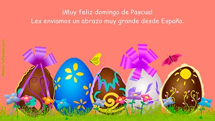 Crear tarjeta de Pascua