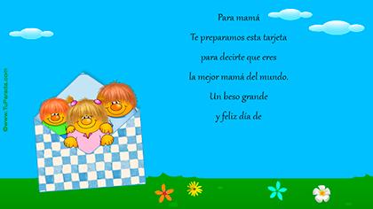 Crear tarjeta de Día de la madre