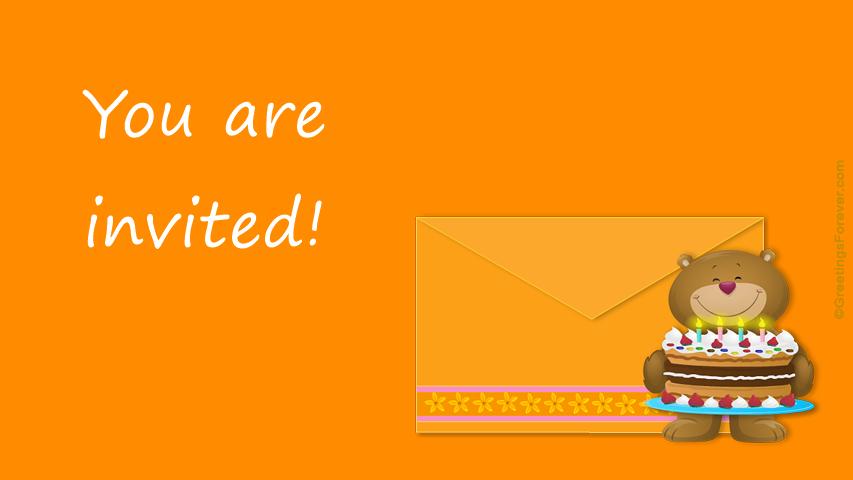 Ecard - You are invited!