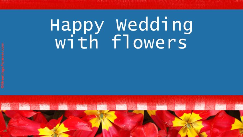 Ecard - Wedding