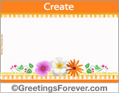 Create Mother's Day ecard