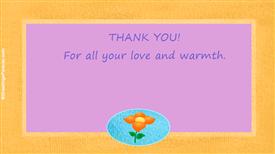 Thank you ecard