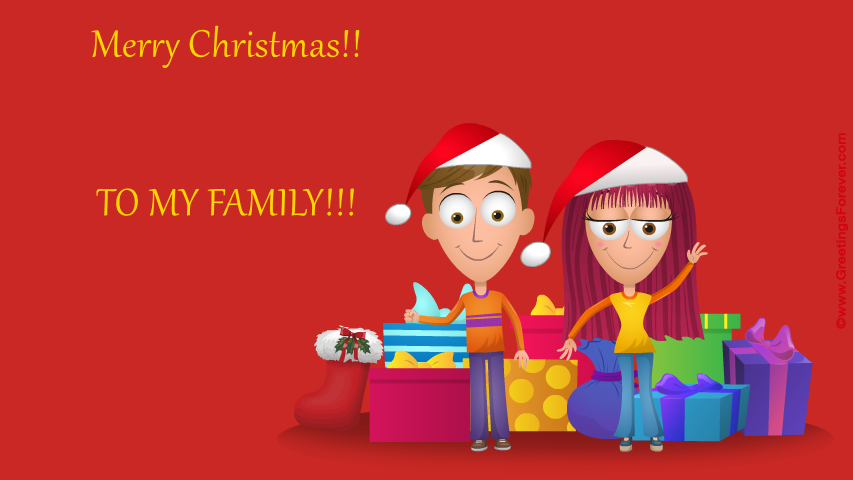 Ecard - Merry Christmas