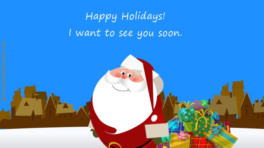 Ecard - Happy Holidays regards