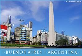 Foto del Obelisco, Buenos Aires - Argentina