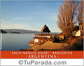 Foto Lago Nahuel Huapi, Bariloche - Argentina