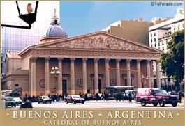 La Catedral de Buenos Aires.