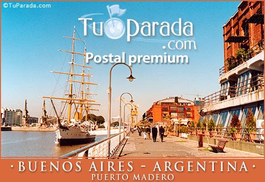 Tarjeta - Puerto Madero