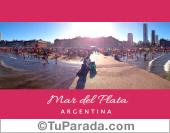 Playa de Mar del Plata - Argentina