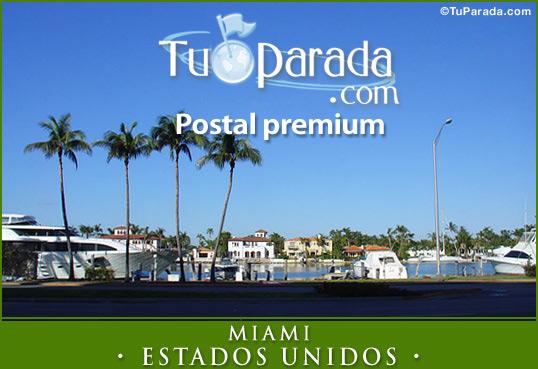 Tarjeta - Miami