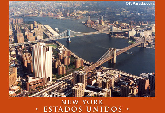 Tarjeta - Foto de New York